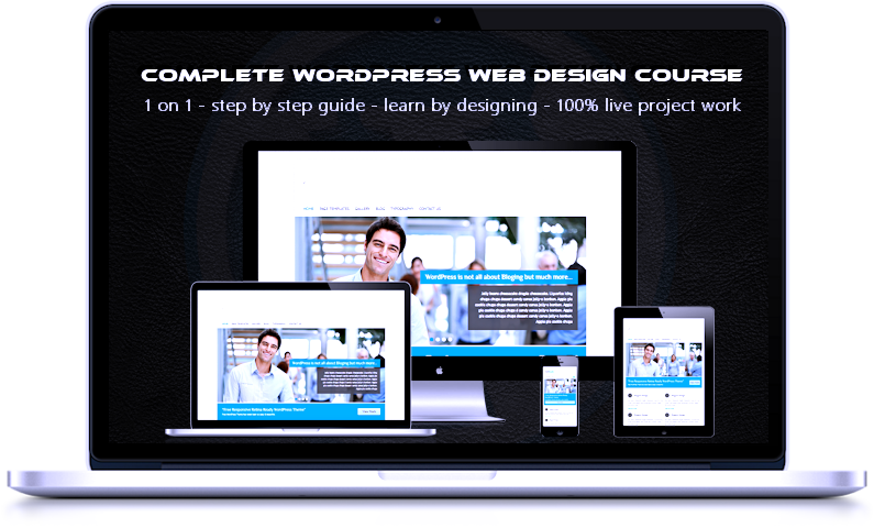 Dordogne Design WordPress webdesign course